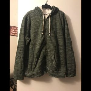 Sonoma Sherpa lined hoodie. Size XL